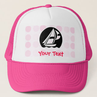 Cute Sailing Trucker Hat