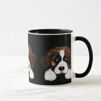 Cute Saint Bernard Mug