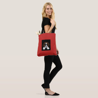 Cute Saint Bernard Tote Bag