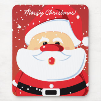 Cute Santa Claus custom mousepad