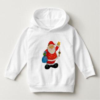 Cute Santa Claus Father Christmas Kris Kringle Hoodie