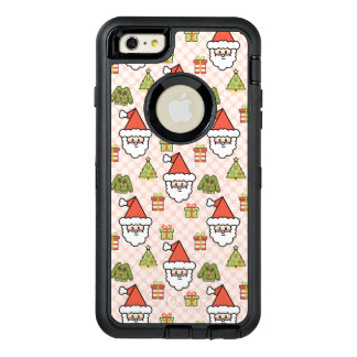 Cute Santa Claus OtterBox Defender iPhone Case