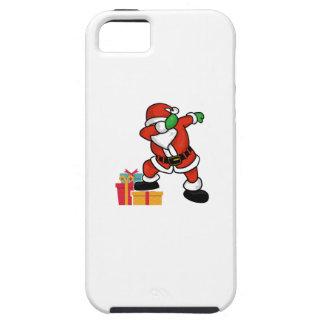 Cute Santa dabbing on gift Christmas T Shirt iPhone 5 Cover