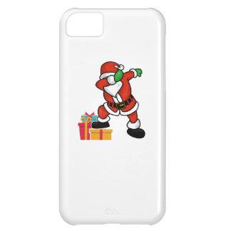 Cute Santa dabbing on gift Christmas T Shirt iPhone 5C Cases