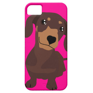 Cute Sausage Dog Dachshund iPhone Cover
