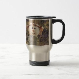 Cute Scarecrow Travel Mug