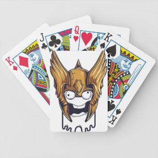 cute scary design bicycle playing cards