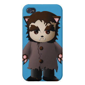 Cute Scary Werewolf iPhone 4/4S Cases