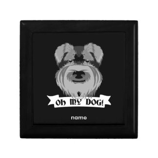 Cute Schnauzer Oh My Dog Gift Boxes