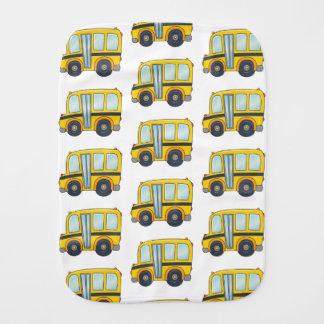 Cute School Bus Burp Cloth