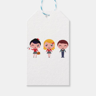 Cute school kids edition gift tags