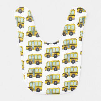 Cute Schoolbus Bib