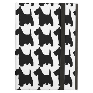 Cute Scottie Dog Scottish Terrier Pattern iPad Air Cover