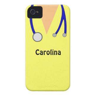 Cute Scrubs Nurses Personalized Blackberry Case