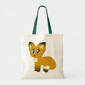 Cute Scruffy Little Fox Tote Bag