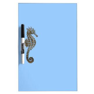 Cute Sea Horse Marine Animal Gift Dry-Erase Boards