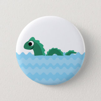 Cute Sea Monster 2 Inch Round Button