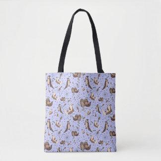Cute Sea Otter Tote Bag