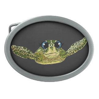 Cute sea turtle belt buckles