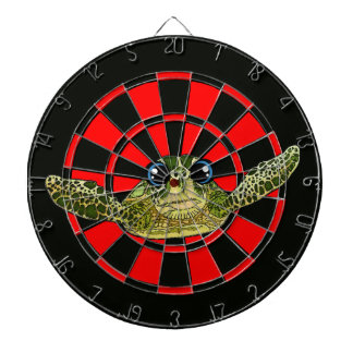 Cute sea turtle dartboard