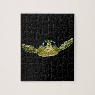 Cute sea turtle jigsaw puzzle