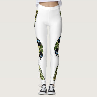 Cute sea turtle leggings