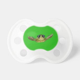 Cute sea turtle pacifier