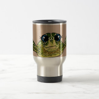 Cute sea turtle travel mug