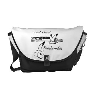 Cute Seagull Beach East Coast Beachcomber bag Courier Bag