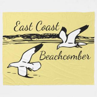 Cute Seagull Beach East Coast Beachcomber blanket