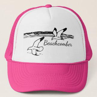 Cute Seagull Coastal Beach  Beachcomber hat