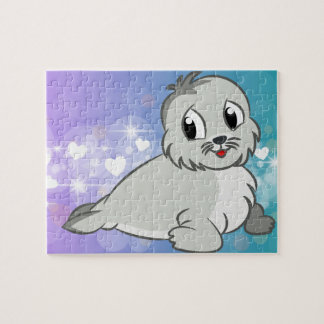 Cute seal jigsaw puzzle