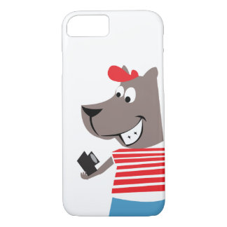 Cute Selfie Character Phone Case