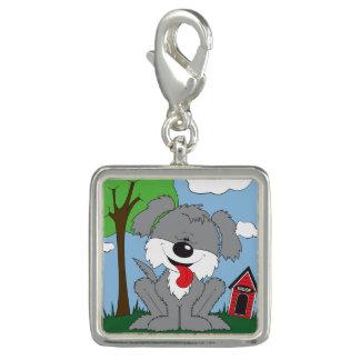 Cute Shaggy Puppy Cartoon Charm