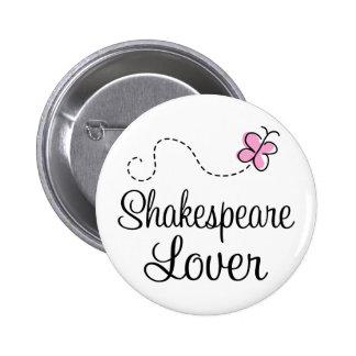 Cute Shakespeare Lover 2 Inch Round Button
