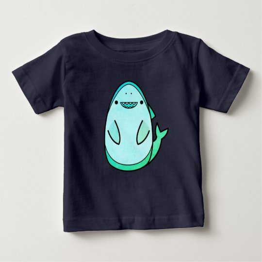 Cute Shark Design Baby T-Shirt