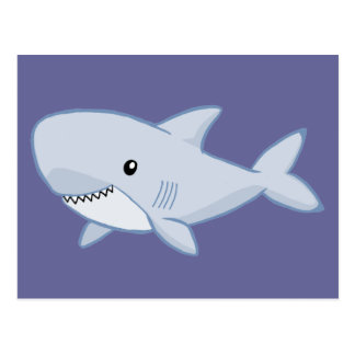 Cute Shark Postcard
