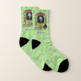 Cute Sheep Baach Animal Composer Classical Music Socks