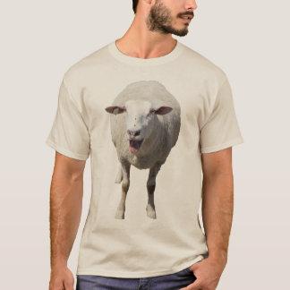 Cute Sheep Baa'ing With Tongue Out T-Shirt