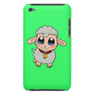 Cute sheep barely there iPod cases
