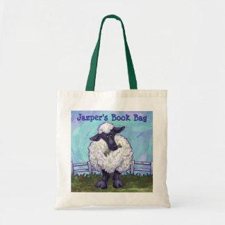 Cute Sheep Custom Book Bag
