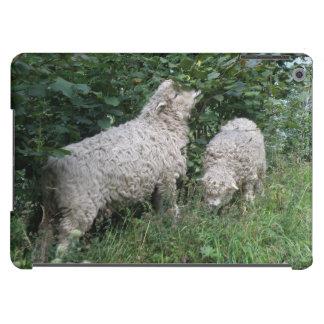 Cute Sheep Eating Leaves iPad Case