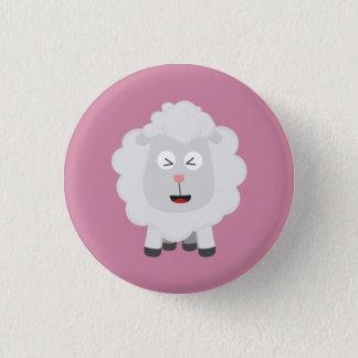Cute Sheep kawaii Zxu64 1 Inch Round Button