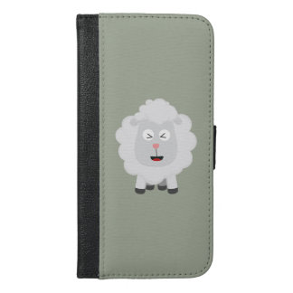 Cute Sheep kawaii Zxu64 iPhone 6/6s Plus Wallet Case