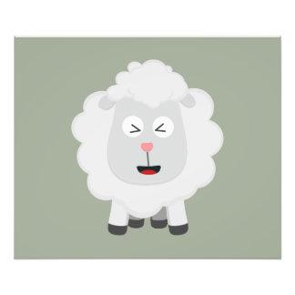 Cute Sheep kawaii Zxu64 Photo Print