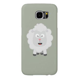 Cute Sheep kawaii Zxu64 Samsung Galaxy S6 Cases