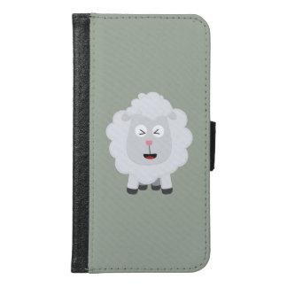 Cute Sheep kawaii Zxu64 Samsung Galaxy S6 Wallet Case