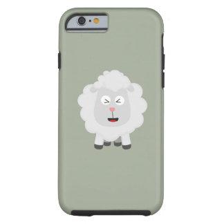 Cute Sheep kawaii Zxu64 Tough iPhone 6 Case