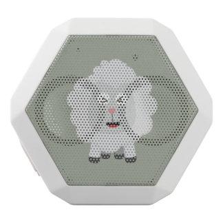 Cute Sheep kawaii Zxu64 White Bluetooth Speaker