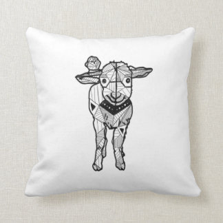 Cute Sheep Lamb Cushion